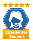 Siegel Exzellenter Support